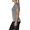 asics Stripe - Camiseta Running Mujer - gris